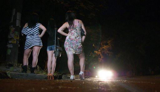 Life as a teen prostitute