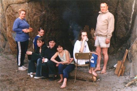 Пикник на острове Хортица