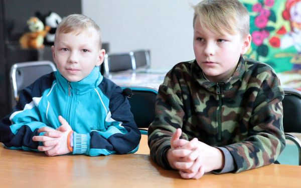 Children need a family: Sergey (born in 2013) and Danil (born in 2008)