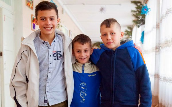 Children need a family: Danil (born in 2005), Denis (born in 2009) and Nikita (born in 2012)