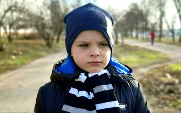 Daniil Duzhik, born in 2012 - Sensorineural deafness III-IV degree