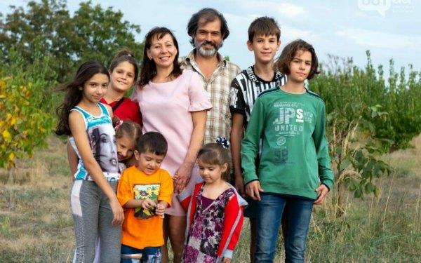В Энергодаре появился второй детский дом семейного типа - в семье восемь детей