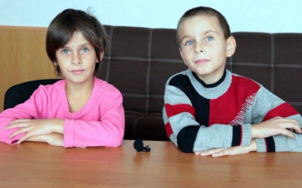 Дітям потрібна родина: Каріна (2012 р.н.) і Андрійко (2010 р.н.)