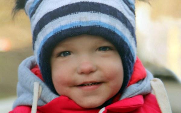 Timofey Lopushnyak, born in 2018 - Hearing loss IV degree