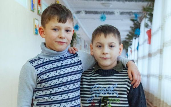 Children need a family: Vladislav (born in 2010) and Nikolay (born in 2012)
