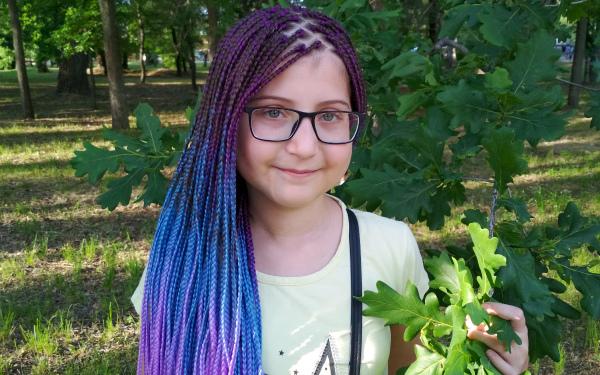Alisa Onufriyeva, born in 2007 - РЎystic fibrosis
