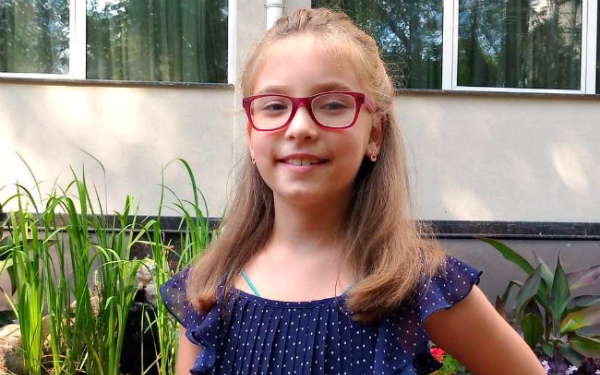Miroslava Svetlichnaya, born 2011 - Right-sided deafness V degree