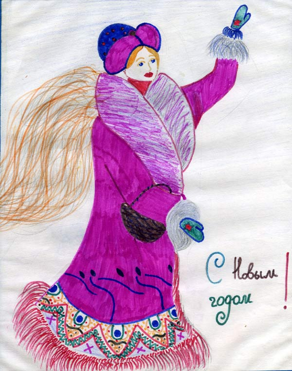 Orphans of Zaporozhye drawings