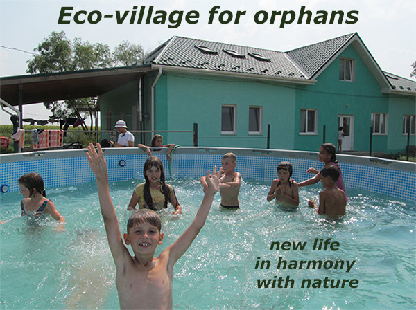Eco-village for orphans Happy Child
