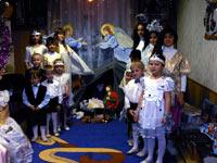 Christmas Holiday at the Orthodox orphanage В«NadezhdaВ»