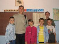 Альберт, Миша и дети