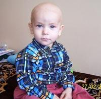 Save a child: Borishpolets Sashen'ka, 1 year 8 months – liver tumor, deafness