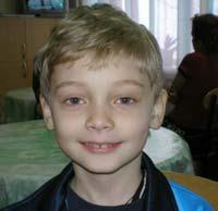 Save a child: Fenogenov Andrew, 6 years old - accute limphoblastic leucaemia