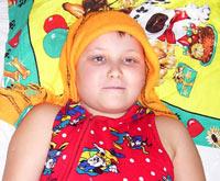 Save a child: Moroz Nadya, 11 years old - brainstem tumor