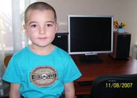 Save a child: Pavlenko Vladik, 8 years - brain tumor