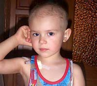 Попов Богдан, 4 годика - опухоль Вильмса (почки)
