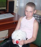 Save a Child: Sveta Prokaza, 9 years old - Ewing`s sarcoma