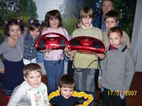 Photo reporting: gifts from Christian group from USA to orphanages of Zaporozhye