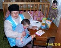 Фотоотчёт о посылках и закупках для Черниговского детского дома-интерната (с. Калиновка) за февраль-март 2008