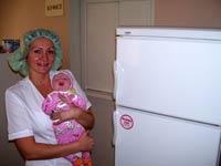 Фотоотчёт: закупка трёх холодильников в Запорожскую областную детскую клиническую больницу