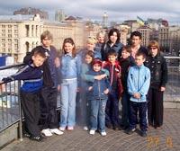 Фотоотчёт об использовании пожертвований за май 2006 - поездка в Киев и на о. Хортицу