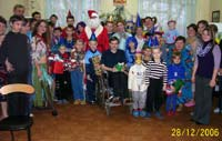 Photo reporting: New Year's Party in Zaporozhye's Children Hospital Oncology Ward