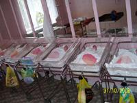 Отделение патологии новорожденных Запорожской областной детской больницы