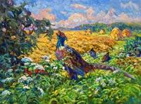 Купив картину известной запорожской художницы, вы поможете тяжелобольным детям