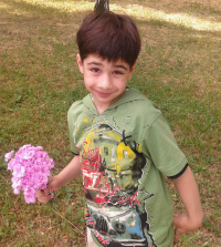 Nazar Semeniuk, 7 years old, Klippel–Trеnaunay syndrome