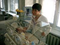 Отделение реанимации новорожденных Запорожской городской детской многопрофильной больницы №5