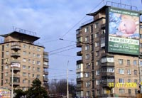 Социальная реклама сайта www.deti.zp.ua на улицах Запорожья
