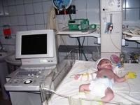 Sensor for the ulstrasound device is broken in Zaporozhye regional children's hospital