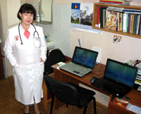 Computerization of the Oncology Department in Zaporozhye is in progress