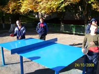 The tennis table setting programm in the orphanages of Zaporozhye region is on stream