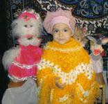 Винникова Илона, 3 года - опухоль головного мозга