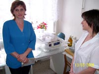 Photo report about use of donations:  Zaporozhia regional children's hospital