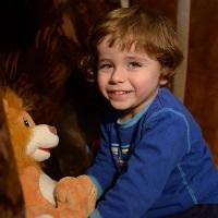 Andrey Proshin – born in 2012, cerebral spastic infantile paralysis