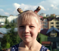 Darya Mochernyuk, born in 2010 – cystic fibrosis