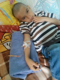 Artem Reznichenko, 5 years old — acute lymphoblastic leukemia