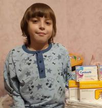 Mikhail Bratushkin, born in 2005 – Cystic fibrosis