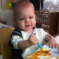 Andrey Lysenko, born in 2011 - short bowel syndrome
