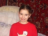 Арина Кравец, 2003  г. р., - врожденный порок сердца