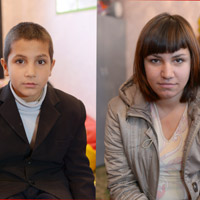 Детям нужна семья: Алена С.,  родилась в  1999 году и Арсен С.,  родился в 2005 году