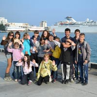 Off-peak Season in the Crimea for the Children from Zaporozhye and Donetsk