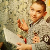 Bogdan Biletsky, born in 2005 - cerebral palsy
