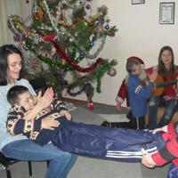 The December Report of the Works Done in Chernigov Children's Home in Kalinovka in 2013