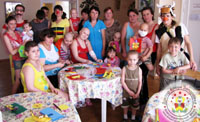 """Charitable Fund """"Doctor Clown"""" in Zaporozhye"""