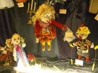 The Puppet Theatre opens its doors for the young viewers of the orphanage