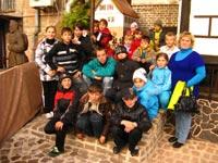 Merry adventures of Elizavetovka's children