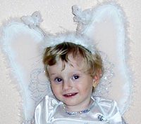 Eva Vorobyeva, born in 2009 - Sensory hearing loss 2-3 degrees, autism.